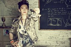 Btob Changsub, Minhyuk, Btob Profile, Kpop Profiles, Super Funny, Military Jacket, Idol, Dress Up, Photoshoot