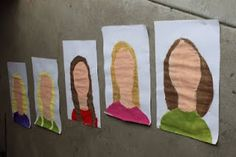 Self portraits- tempera hair and skin, then pastels for features  Use with Hanoch Piven materials first then phot and then draw features (2 projects in 1)