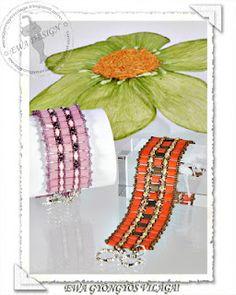 * Ewa gyöngyös világa!: Tillia karkötő / Tillia bracelet