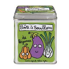 Boîte à cubes bouillons De légumes - Derrière La Porte DLP - Accessoire cuisine et rangement/Boîte métal et céramique - espritlogis-fr