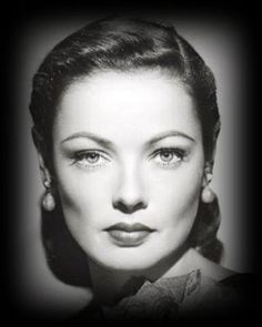 Such a great pose for You mel Gene Tierney  1920 - 1991
