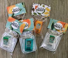 Thoughts that Stick: Mini Tic Tacs Stampin Up, Mason Jar Cards, Small Mason Jars, Treat Holder, Treat Box, Candy Crafts, Bazaar Ideas, Christmas Gift Box, Craft Show Ideas