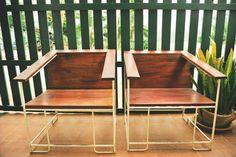 Chairs, Laos. 2012 #vintage #furniture