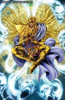 Saint Seiya - Shaka- by diabolumberto on DeviantArt Anime Fantasy, Art Anime, Manga Anime, Anime Saint, Shaka Tattoo, Geeks, Knights Of The Zodiac, Chibi, Alternative Comics