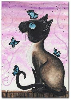 Lavender Skies & Butterflies ~ by AmyLyn BiHrle