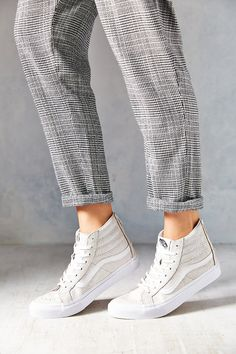 Vans Crackle Suede Sk8-Hi Women's High-Top Sneaker - Urban Outfitters Favorite thing about fall/winter are the sneakers!