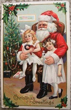 Look what I found on @eBay! http://r.ebay.com/NP04fH VINTAGE EMBOSSED CHRISTMAS SANTA CLAUS POST CARD