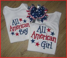 Addy and Cody 4th Shirts