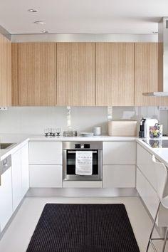 белая кухня фото