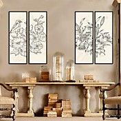 Art Paintings Of Flowers And Birdst  Framed C... – AUD $ 112.15