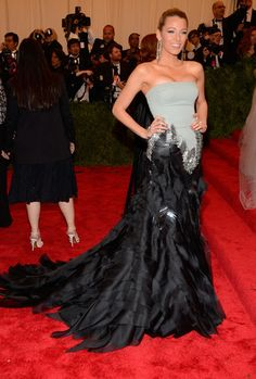 Wow! Blake Lively turned heads in Gucci at the Met Gala