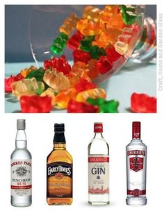 Craft, Home and Garden Ideas - Alcohol Gummy Bears