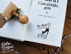 Stempel Ex libris do oznaczania książek