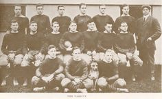 1912 UO varsity football team.  From the 1914 Oregana (UO yearbook).  www.CampusAttic.com