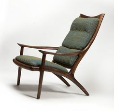 https://flic.kr/p/f3Y1XD | Lounge Chair | Handcrafted by Sam Maloof Woodworker, Inc. Photograph by Gene Sasse