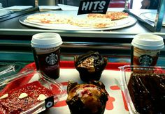 Starbucks Coffee and home made dessert.. HITS BURGUERS DINER... Pto Mazarron!! 968154450