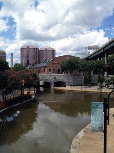 Canal Walk, Richmond, VA....walking trail along the James River  presenting 4 centuries of Richmond's history.