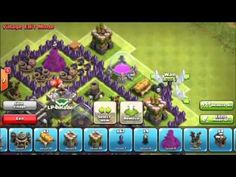 Clash of Clans: Village Hdv8 Rush ou gdc