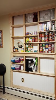 Pantry Between The Studs Diy And Crafts Diy Kitchen