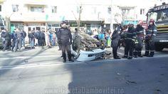 Accident grav pe Bulevardul Unirii din Targoviste - Gazeta Dambovitei - Stiri Targoviste - Stiri Dambovita