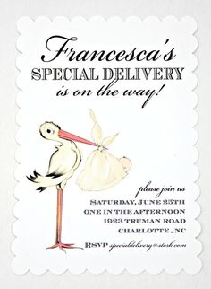 Invitation  Special Delivery Collection  by by LoraleeLewis, $39.00