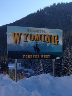 Welcome to Wyoming.