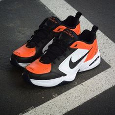 The 50 Best Nike Air Monarch Customs - 'Shattered Backboard' by Shme Custom Kicks New Release Shoes, Air Max Sneakers, Sneakers Nike, Nike Air Monarch, Womens Fashion Sneakers, Trendy Shoes, Custom Shoes, Nike Air Max, Air Jordans