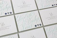 Elizabeth Porcher Jones stationery letterpress printing