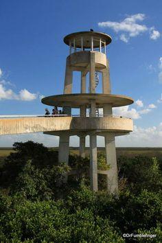 Shark Valley Observation Tower, Everglades National Park