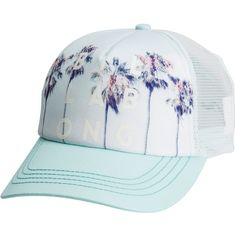 2f18e83a060 Billabong Take Me There Trucker Hat ( 23) ❤ liked on Polyvore featuring  accessories