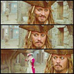 Jack Sparrow  On Stranger Tides