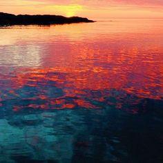 Reflections off Lake Superior, near Marquette, by Instagram user @jmwuokko. More on Instagram: www.instagram.com/midwestlivingmag