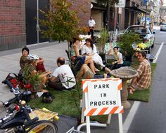 Read about a growing trend, Pop-Up Parks
