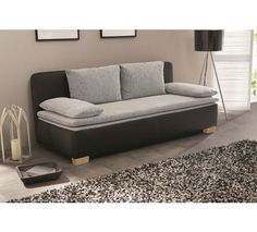 TROSJED SOFA - siva/crna, Moderno, tekstil (200/80/93cm) - XORA Sofas, Couch, Furniture, Designs, Home Decor, Products, Product Design, Home, Couches