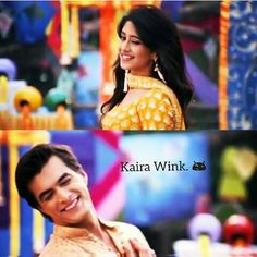 Kaira luvers Cute Couples Photos, Tv Couples, Romantic Couples, Best Love Stories, Love Story, Dps For Girls, Kaira Yrkkh, Kartik And Naira, Mohsin Khan