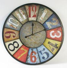 Zegar ścienny kolory