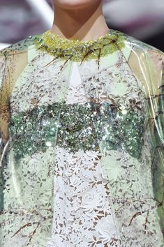 Christian Dior at Couture Spring 2015 (Details)