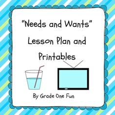 Worksheets Needs And Wants Worksheet Cut And Paste lesson plans activities for students and pocket charts on pinterest needs wants plan worksheets learn about differentiated