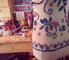 Avance de la red voy lento pero calculo que en dos semanas estará listo  Work in progress two weeks remain #etsy #argentina #crochet #ganchillo #virka #fashion #clothmaker #exclusive #luxury #moda #häkeln #uncinetto #irishlace #irishcrochet #crochetersofinstagram #crocheting #craftmanship #blusa