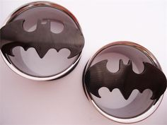 Batman Spotlight Tunnels (2 gauge - 1 inch)