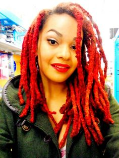 loc colors dread colours edgy styles luvlocs styles fashions funk funky fashions natural locks au natural beautiful natural - Coloration Locks