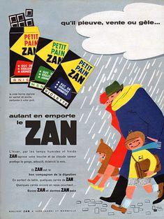 Publicité Zan - 1962 - réglisse - bonbon -