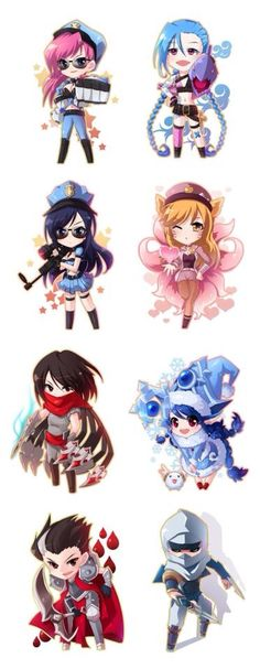 League Of Legend Chibi