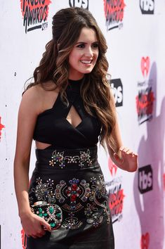 Laura Marano Photos Photos - Actress Laura Marano attends the iHeartRadio Music Awards at The Forum on April 3, 2016 in Inglewood, California. - iHeartRadio Music Awards - Red Carpet