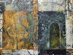 Bill Gingles, Begin Again, Acrylic on canvas, 30 x 40, MMXVI