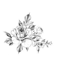 Flower Tattoo Designs, Flower Tattoos, Retro Art, Tattoo Studio, Laser Cutting, Tattoos For Women, Tatoos, Florals, Ipad