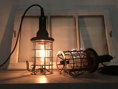 Oude Industriële looplampen.