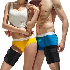 Yosoo Thigh Wrap with Silicone Anti-slip Strips Adjuatable Neoprene Hamstring Brace Support for Pulled Muscle Strain Injury Tendonitis Rehab and Recovery, Fits Men and Women, Black Life Insurance For Seniors, Fishing Shoes, Quad, Thigh Wrap, Kids Braces, Thigh Sleeve, Slim Thighs, Compression Sleeves, Bebe