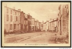 SAINT SAVINIEN sur CHARENTE Rare Commerces rue principale ? (Bergevin) Charente (16)