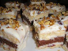Zsuzsa ízutazásai.: Somlói kocka. Tiramisu, Food And Drink, Ethnic Recipes, Amigurumi, Tiramisu Cake